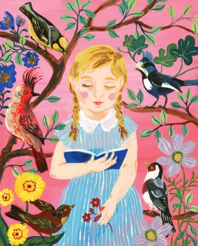 Nathalie Lete: The Girl Who Reads to Birds 500-Piece Puzzle by Nathalie Lete