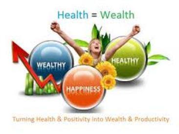 Health = wealth