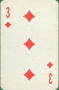 Three of Diamonds