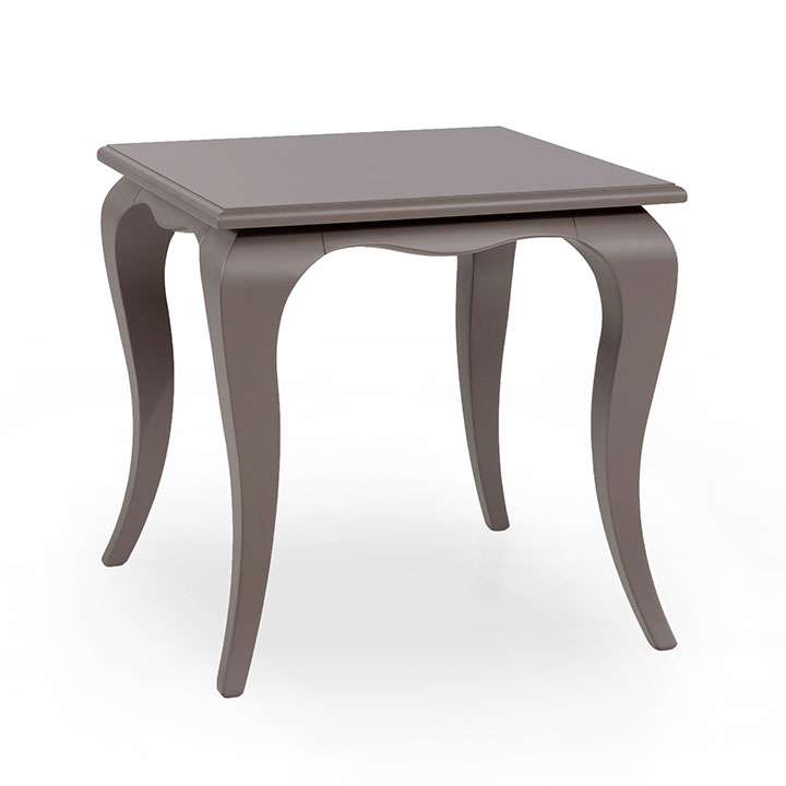 rectangular small table made of wood