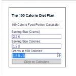 100 Calories of Fat Free Plain Yogurt