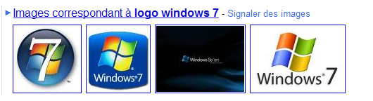 les logos Windows 7