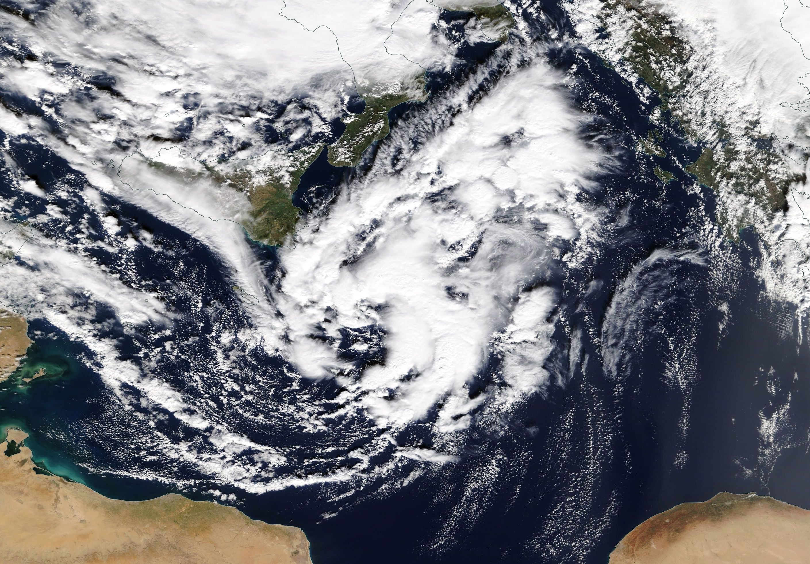 Image result for A Mediterranean tropical-like cyclone 2018