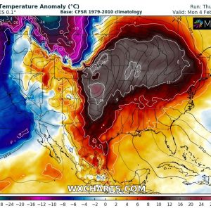 An extreme pattern flip across the northern United States – from frigid Arctic outbreak into spring weather in only 3 days