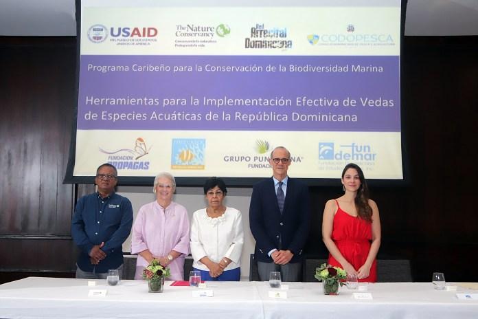 Francisco Nunez, Rosa Bonetti, Ydalia Acevedo, Milton Ginebra, Maria Jose Bernat