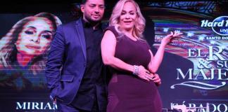 Manny Manuel y Miriam Cruz