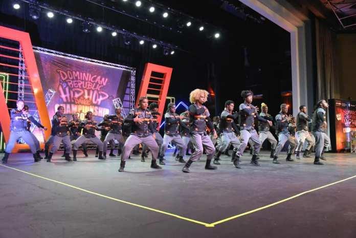 Participantes Competencia Nacional Hip Hop