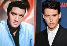 Austin Butler y Elvis Presley