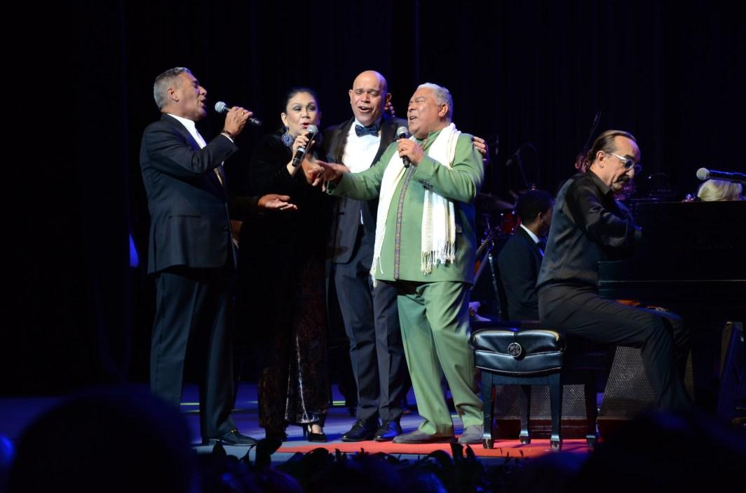 Raul Di Blasio, Maridalia Hernández, Danny Rivera, Niní Cáffaro y Amaury Sanchez