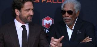 Gerard Butler y Morgan Freeman