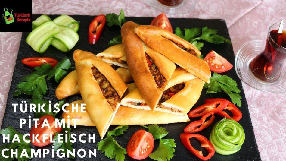Champignon Hackfleisch Pita