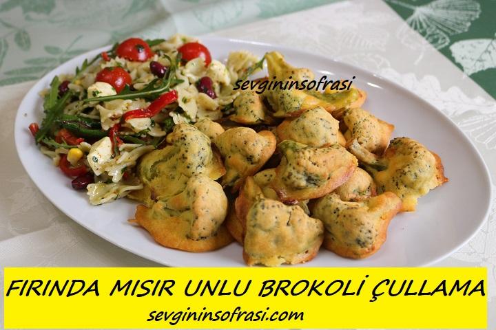 Fırında Mısır Unlu Brokoli Çullama
