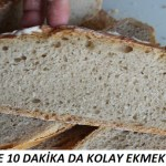 10 Dakika Da Kolay Ekmek Tarifi