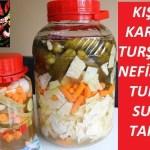 Karışık Turşu Tarifi