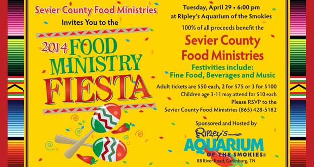 Get your tickets for the Fourth Annual Food Ministry Fiesta!