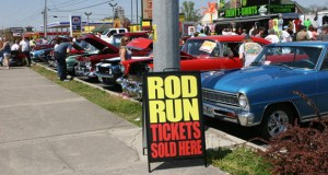 Classic cars at the Rod Run