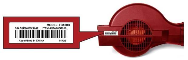 Troy-Bilt label