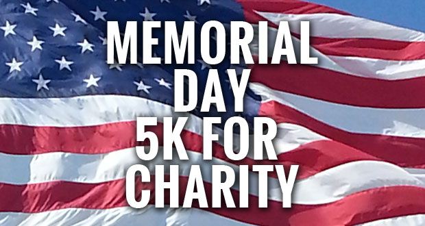 Memorial Day 5K to benefit Wounded Warrior Program and SCHS Foundation