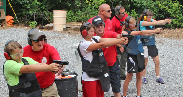 Kids learn police skills at Sevierville Police Department Camp