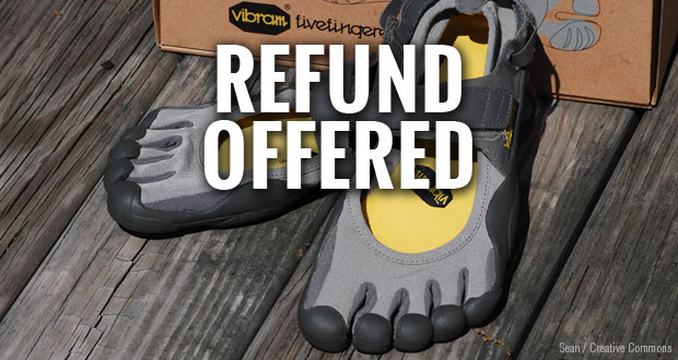 Vibram offers refunds to FiveFingers buyers to settle lawsuit.