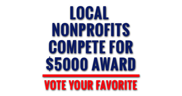Vote for your favorite nonprofit organization daily!