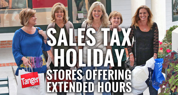 Sevierville stores offer extended hours for Tennessee Sales Tax Holiday