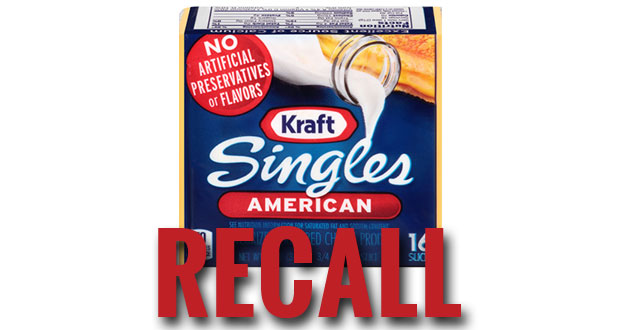Kraft recalls American Cheese Singles due to fears it could make people sick.