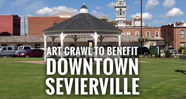 Art Crawl @ The Commons in Downtown Sevierville