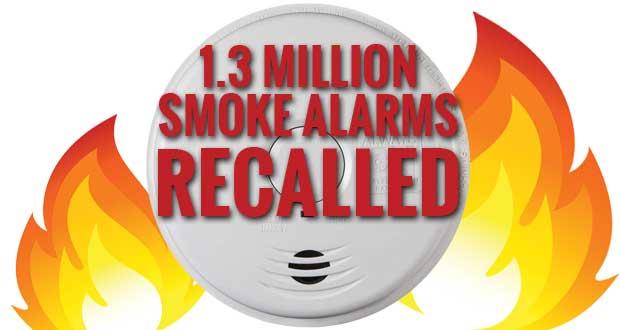 Kidde recalls 1.3 million smoke alarms