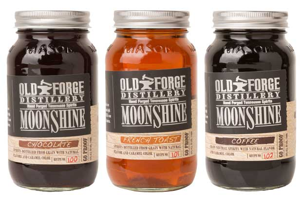 Old Forge Distillery Unique Moonshine Flavors