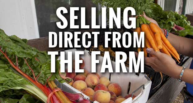 Direct-to-Consumer Sales of Farm Produce & Products