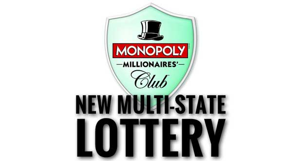 Monopoly Millionaires' Club lottery game
