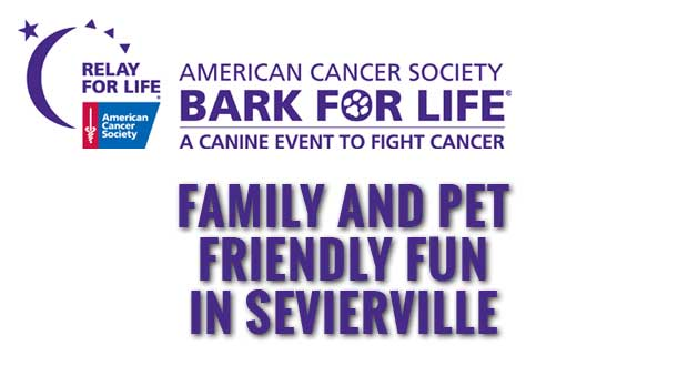 American Cancer Society Bark For Life in Sevierville