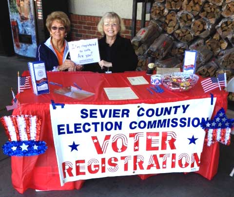 Sevier County Election Commission Voter Registration Drive