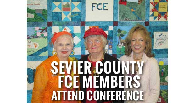 Sevier County Family Community Education (FCE) members attended the FCE Regional Conference