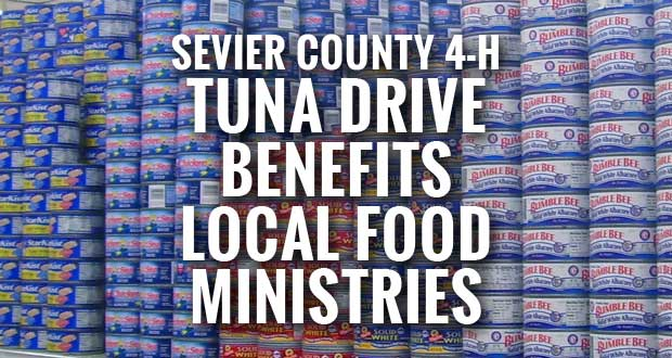 Sevier County 4-H Hooked on Helping Hunger project benefits local food ministries