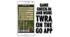TWRA On the Go App allows deer hunting season check in and more.