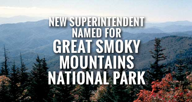 Cassius Cash named the new superintendent of Great Smoky Mountains National Park