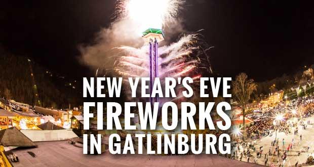 New Year's Eve Fireworks in Gatlinburg, TN