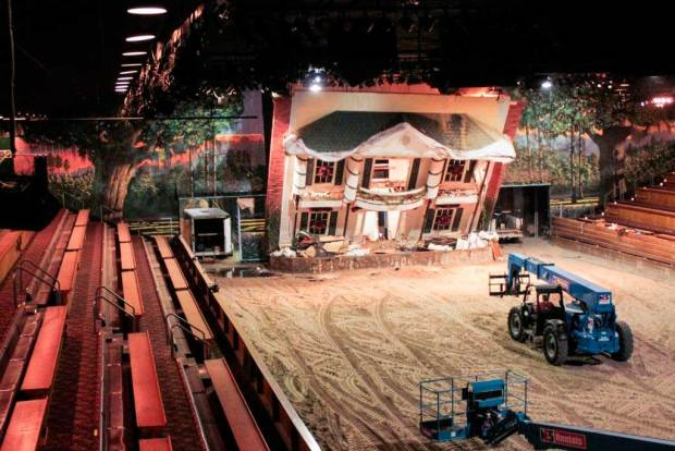 Dolly Parton's Dixie Stampede Renovations