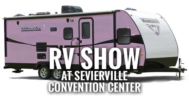 Escape the cold outside this weekend by visiting the Knoxville Smoky Mountain RV Show at the Sevierville Convention Center.