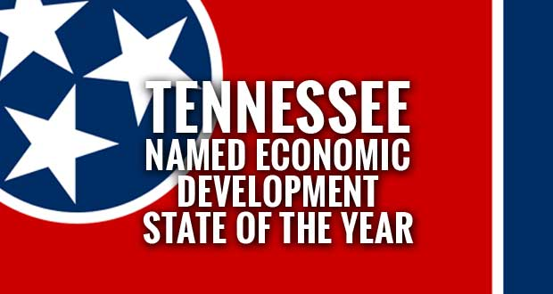 Tennessee named 'State of the Year' from Business Facilities Magazine