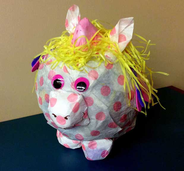 2014 winning Piggy Bank Pageant entry by Mallory Walker