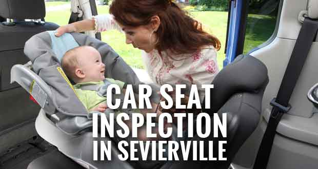 Join the Sevierville Fire Department on Saturday in an effort to keep children as safe as possible while riding in a car by having child car seats inspected.