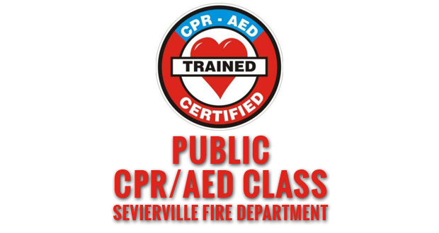 Sevierville Fire Department Offers Public CPR/AED Class