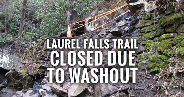 Great Smoky Mountains National Park Closes Laurel Falls Trail Due to Storm Damage