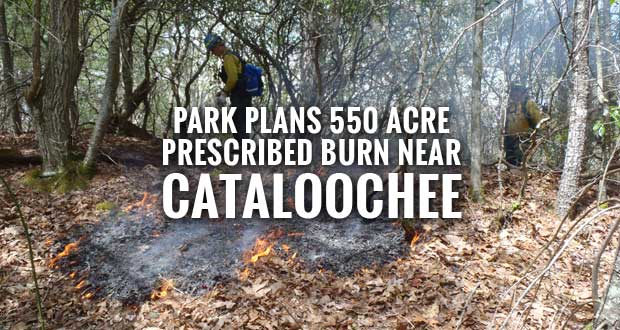 Great Smoky Mountains National Park Plans Prescribed Burn in the Wash Ridge unit adjacent to Cataloochee Valley