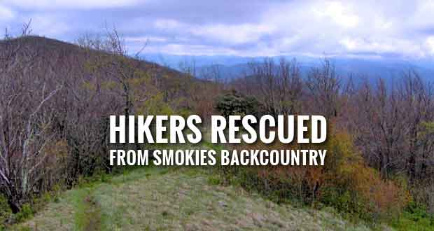 Two Hikers Rescued from Great Smoky Mountains National Park Backcountry