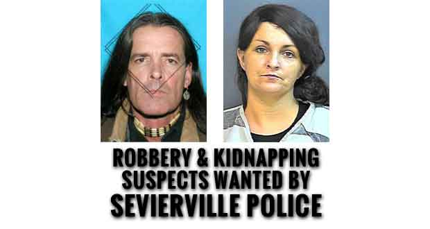 Sevierville Police Seek Public's Help Locating Suspects