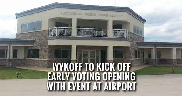 Wykoff Hosting Event, Says State Funding Cut Could Affect Growth of the Gatlinburg Pigeon Forge Airport